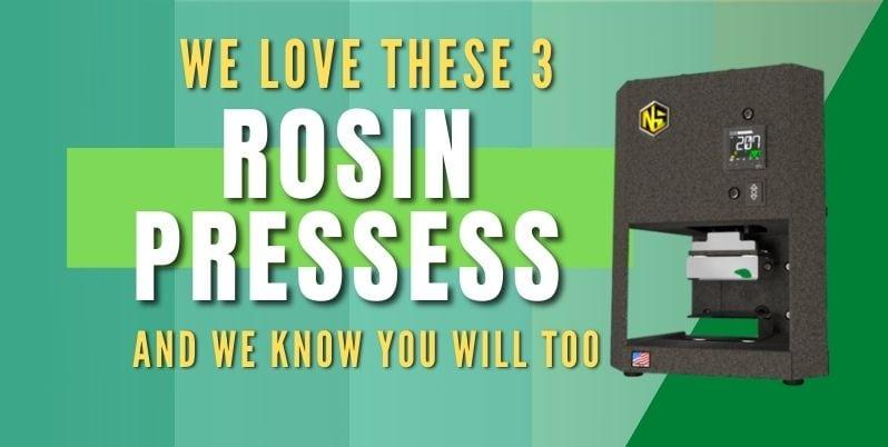 best rosin press 2021