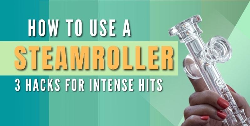 using a steamroller