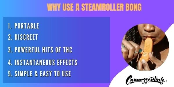 what is a steamroller bong