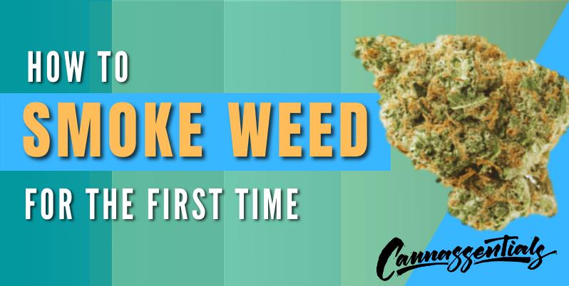 how to smoke marijuana for the first time