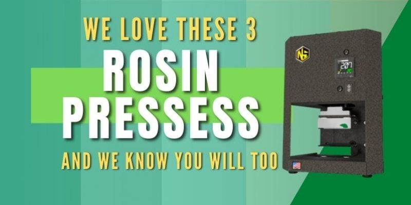 3 of the Best Rosin Press That Literally Crushes The Competition